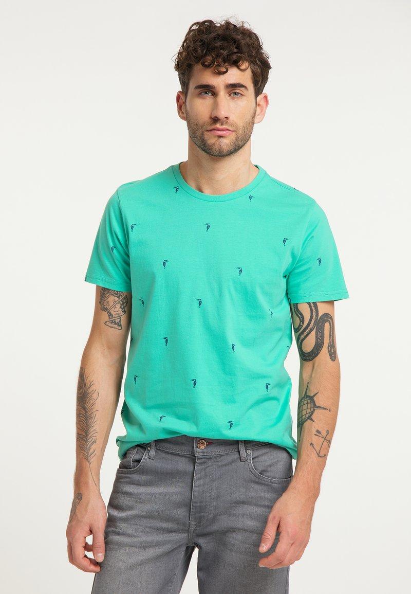 Petrol Industries - T-shirt print - light sea green