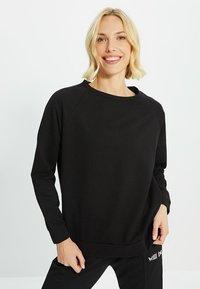 Trendyol - Sweatshirt - black - 0