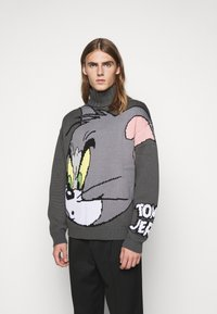 GCDS - TOM SWEATER - Jumper - grey - 0