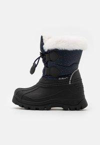Kickers - SEALSNOW UNISEX - Winter boots - marine/multicolor - 0