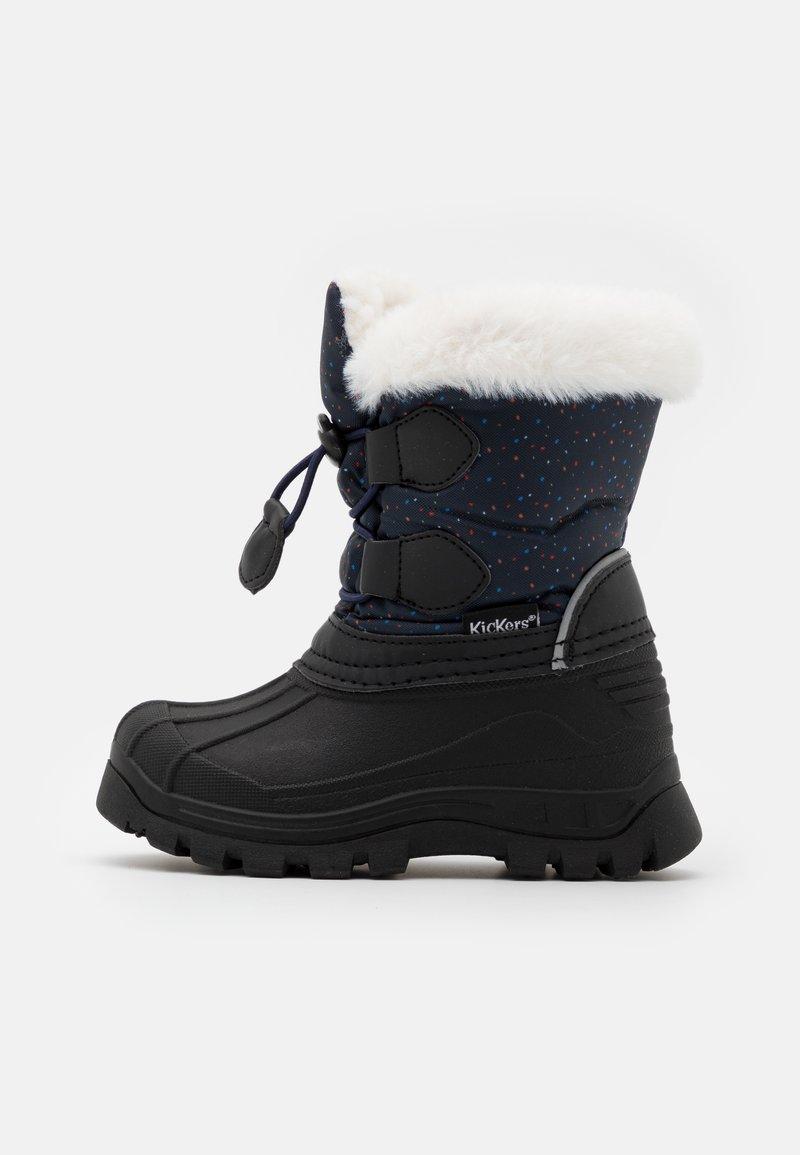 Kickers - SEALSNOW UNISEX - Winter boots - marine/multicolor