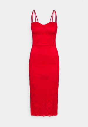 TYLER BODYCON DRESS - Vapaa-ajan mekko - red