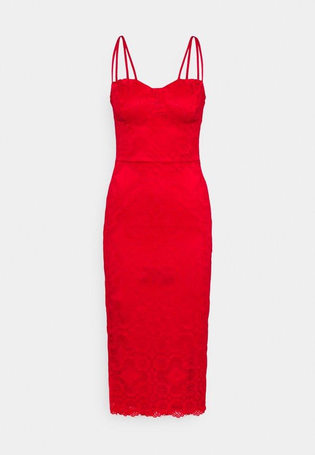 TYLER BODYCON DRESS - Day dress - red