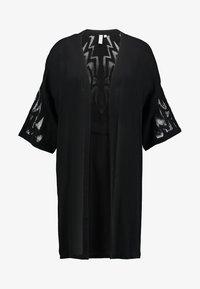 Culture - SICILLA KIMONO - Summer jacket - black - 3