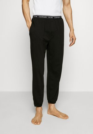 CK ONE JOGGER - Pyjama bottoms - black