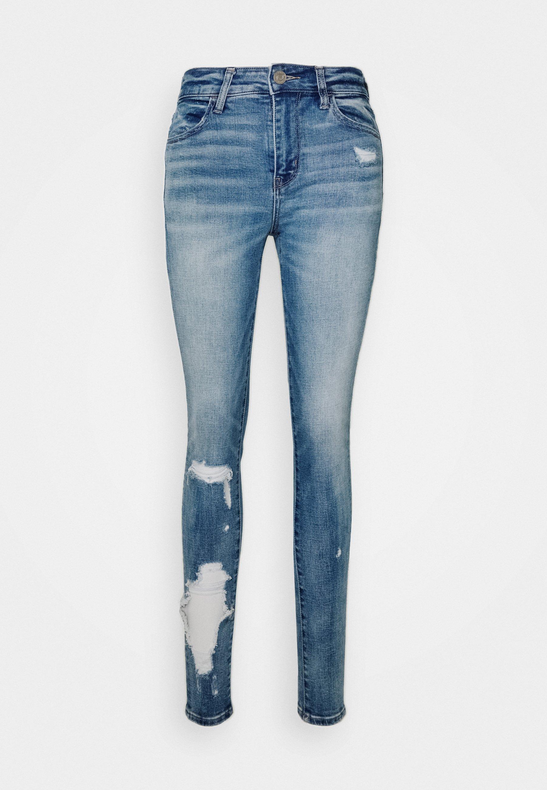 American Eagle Hi Rise Jegging - Jeans Skinny Medium Vintage