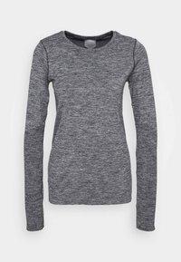 ASICS - RACE SEAMLESS - Camiseta de deporte - dark grey melange - 4