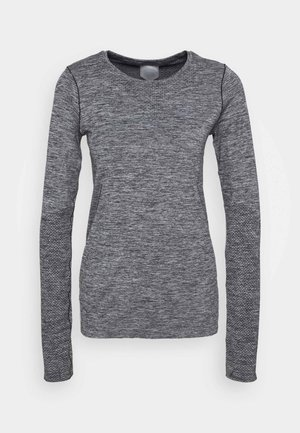 RACE SEAMLESS - Sports shirt - dark grey melange