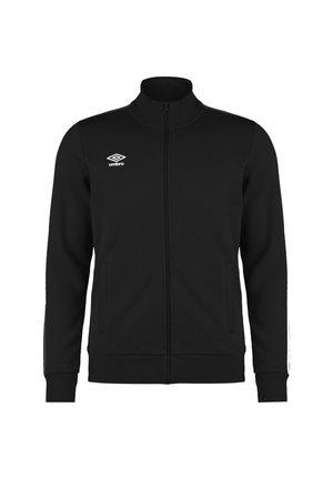Training jacket - black / brilliant white
