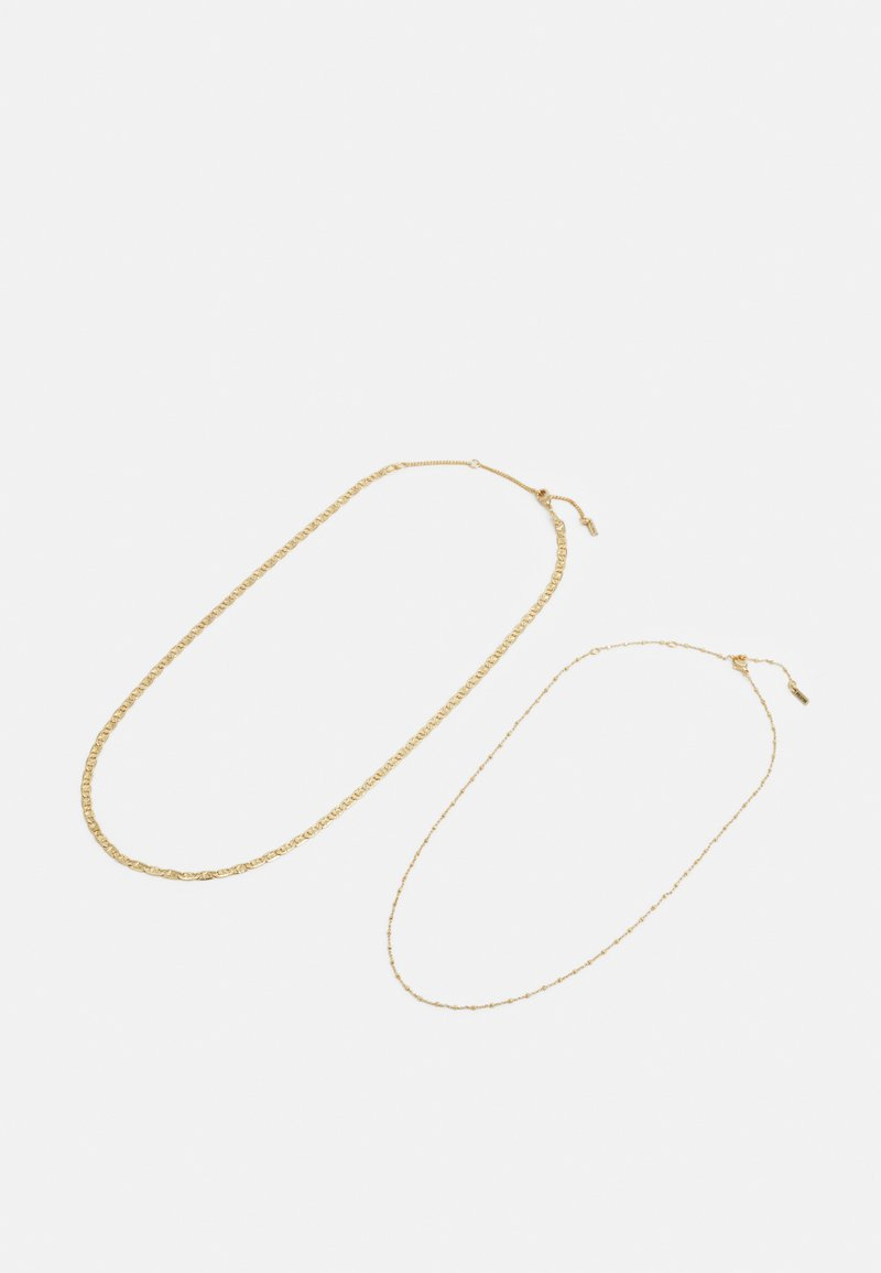 Pilgrim - NECKLACE INTUITION 2 PACK - Halsband - gold-coloured