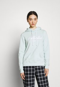 Hollister Co. - CHAIN TECH CORE - Hoodie - mint - 0