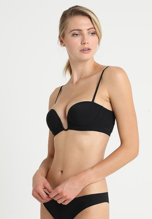 PADDED BANDEAUX WITH WIRE - Strapless BH - black