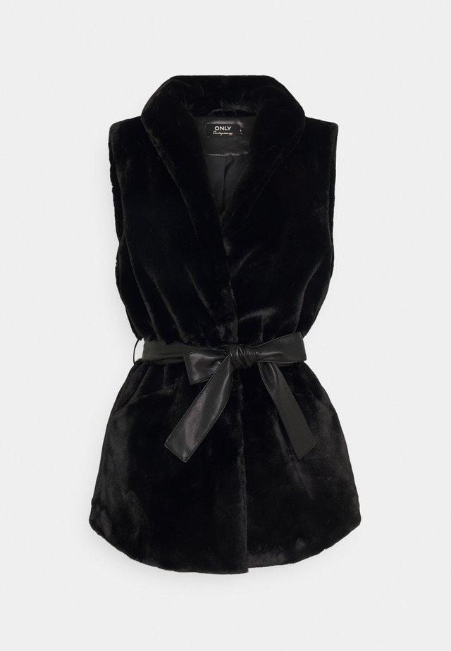ONLOLLIE WAISTCOAT - Bodywarmer - black