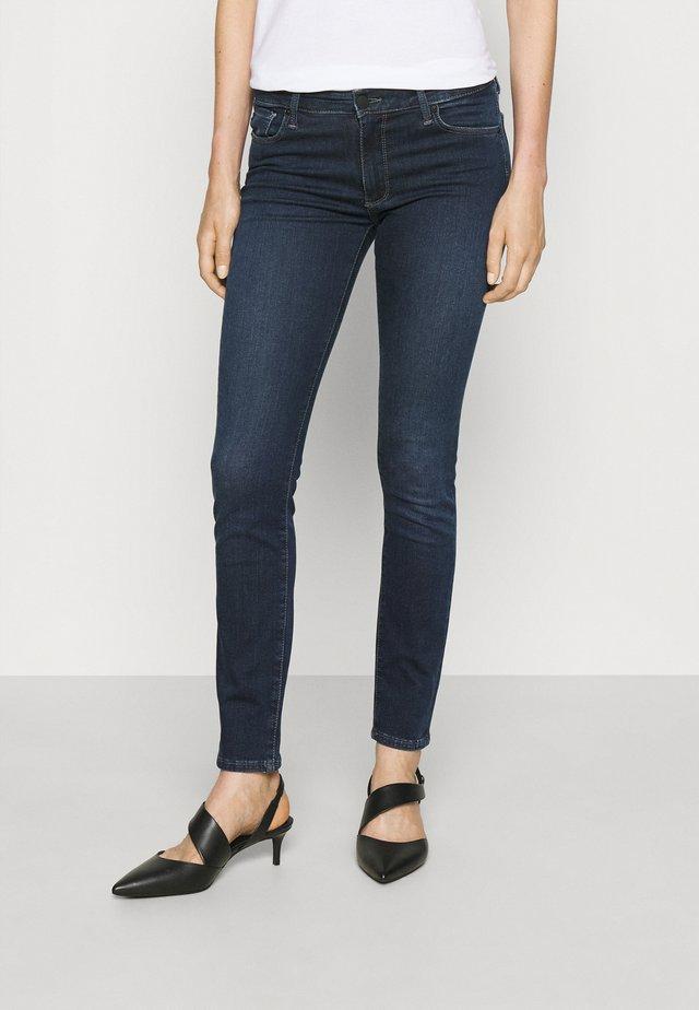 PRIMA - Jeansy Skinny Fit - dark blue