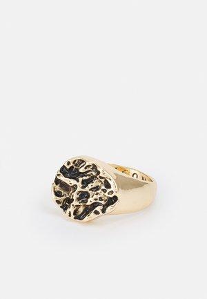 MOLTEN ROUND SIGNET - Ring - gold-coloured
