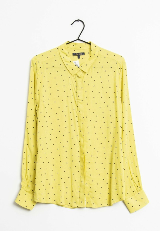 Overhemdblouse - yellow