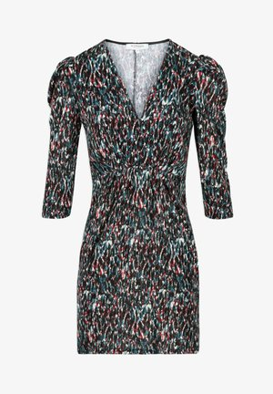 Shift dress - multi-coloured