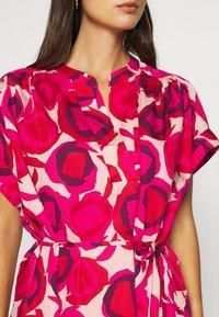 GANT - FLUID DESERT ROSE DRESS - Shirt dress - rich pink - 5