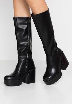 SETENTA - High heeled boots - black