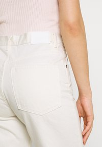 Weekday - TWIN TROUSERS - Jeans straight leg - white - 4