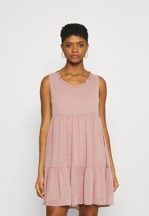 JDYNIKOLINE DRESS - Day dress -  rose
