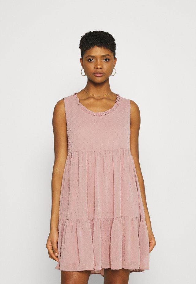 JDYNIKOLINE DRESS - Sukienka letnia -  rose