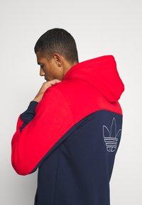 adidas Originals - Sweatshirt - red/collegiate navy - 3
