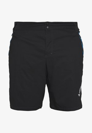 BIKE SHORTS COMFORT 2-IN-1 - Sports shorts - black/brilliant blue
