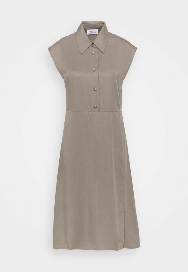 SOURCE - Shirt dress - taupe