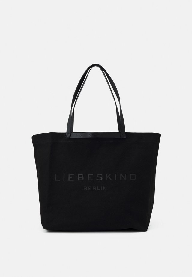 SHOPPER LARGE - Shopping bag - black