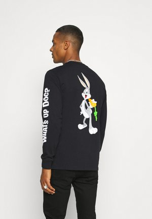 BUGS BUNNY X CONVERSE FASHION TEE - Long sleeved top - black