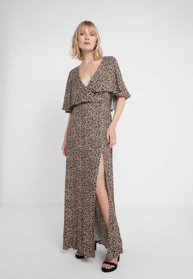 CLAIRE MAXI CAPELET - Robe longue - tan