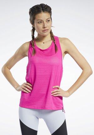 PERFORATED TANK TOP - Top - pink