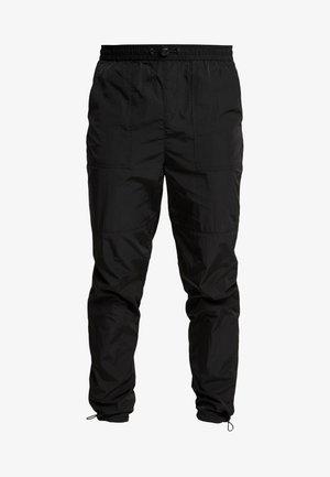 JOHNSON - Kalhoty - black