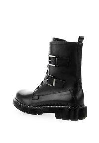 PRIMA MODA - TRECENTA - Cowboy/biker ankle boot - black - 2