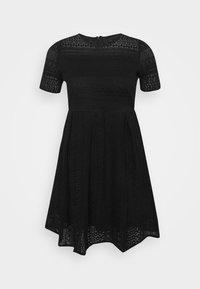 VMHONEY LACE PLEATED DRESS  - Vestido de cóctel - black