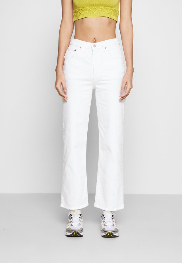 RIBCAGE STRAIGHT ANKLE - Jeans straight leg - cloud over