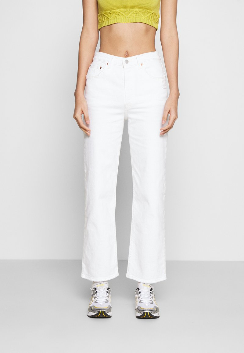 Levi's® - RIBCAGE STRAIGHT ANKLE - Straight leg jeans - cloud over