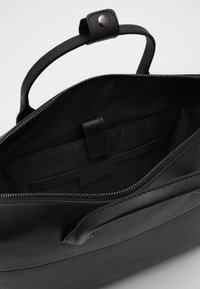 Zign - UNISEX LEATHER - Briefcase - black - 4