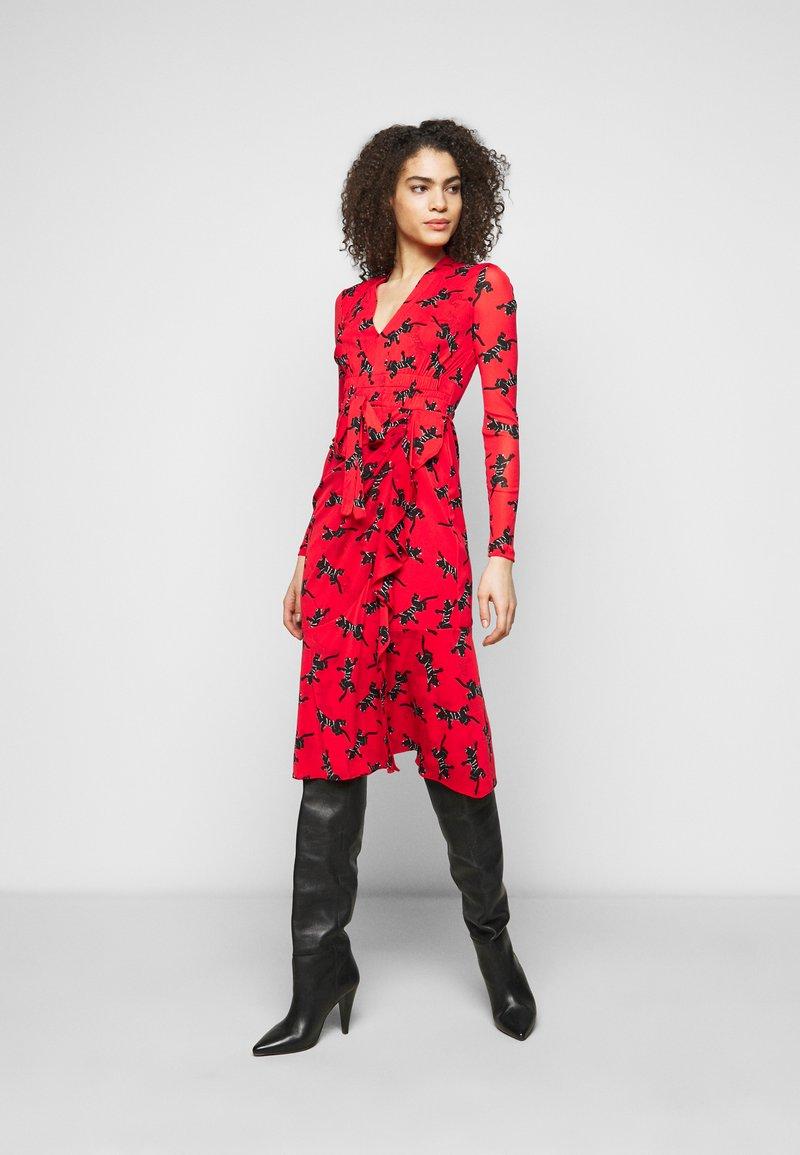 Diane von Furstenberg - CRYSTAL - Vapaa-ajan mekko - red