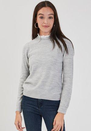 Jersey de punto - gris clair