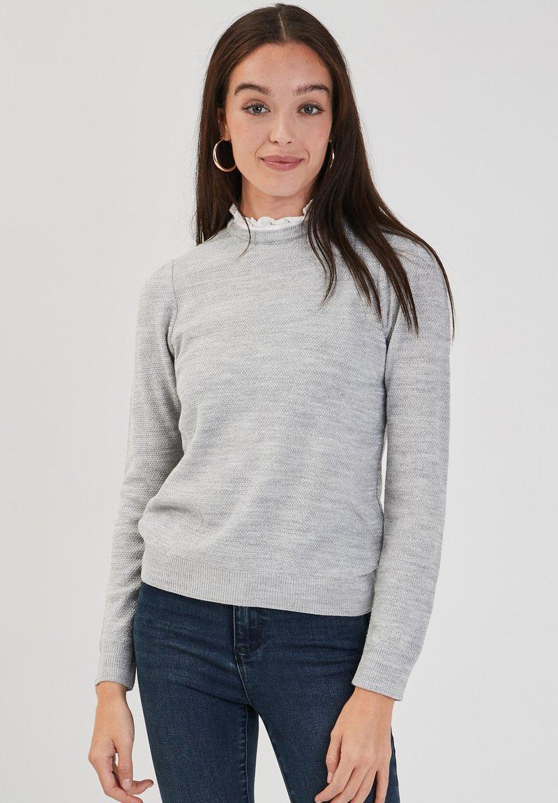 Cache Cache - Jumper - gris clair