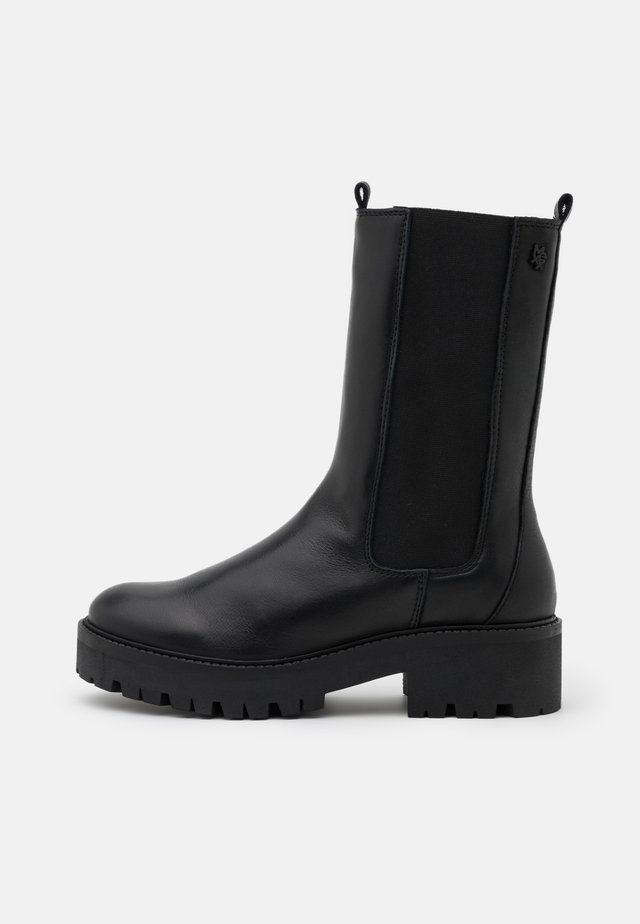 GINA - Plateaustøvler - black