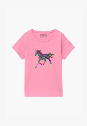 SMALL GIRLS UNICORN - T-shirt con stampa - azalee