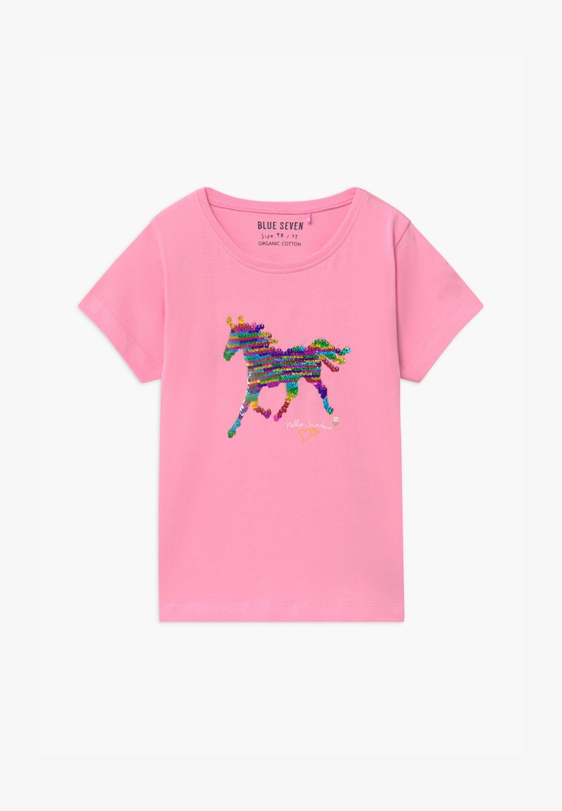 Blue Seven - SMALL GIRLS UNICORN - Print T-shirt - azalee
