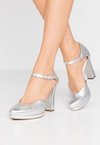 Tamaris - High heels - silver - 0