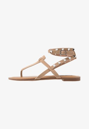 SIRENA - T-bar sandals - tan