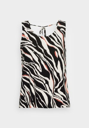 Top - black zebra