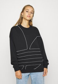 adidas Originals - Sweatshirt - black/white - 0