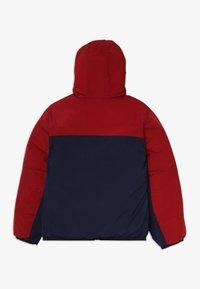 Lacoste - BLOUSON - Winter jacket - bordeaux/navy blue - 1